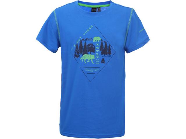 Icepeak Keene T-Shirt Enfant, royal blue